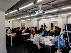 Moving Up! Pre induction Workshops at London Metropolitan University